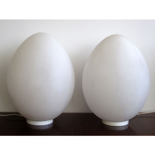 "Ben Swildens ""Uovo / Egg"" floor or table lamps"