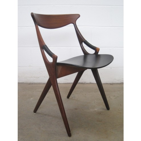 Arne Hovmand Olsen Model 71 chair for Mogens Kold - Denmark c1958