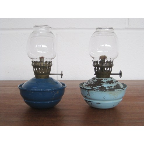 Tilley mini paraffin lamps c1950s - England