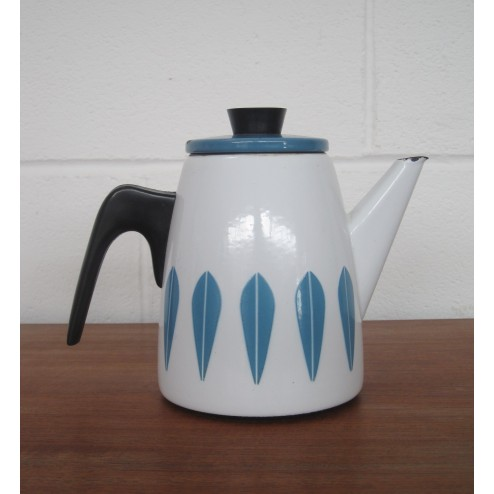 "Cathrineholm ""Lotus"" Coffee Pot by Grete Prytz Kittelsen c1963 - Norway"