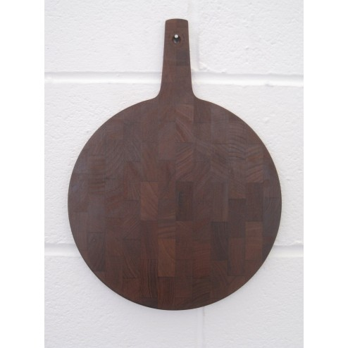 Jens Quistgaard teak cheese / serving board for Dansk Designs c1960s - Denmark