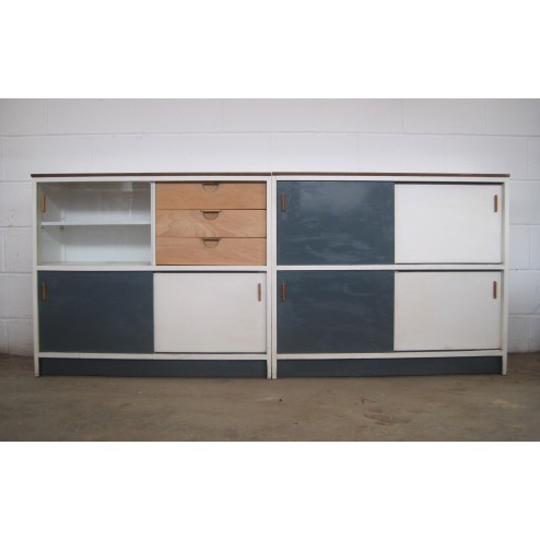 "Kandya ""Trimma"" Cabinets by Frank Guille c1956 - England."