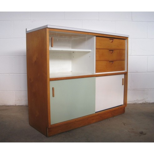 """Kandya """"Trimma"""" Cabinet by Frank Guille c1956 - England."""
