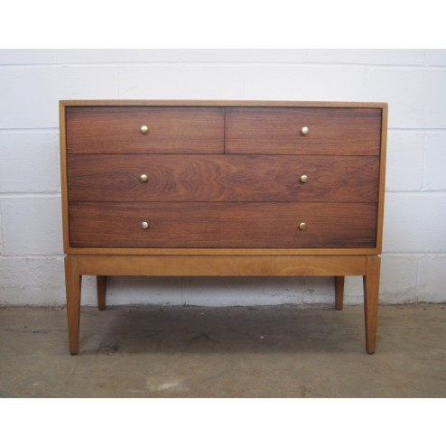Heals Chest of Drawers / Bedside Chests (Pair) by Peter Hayward for Uniflex c1960 -England
