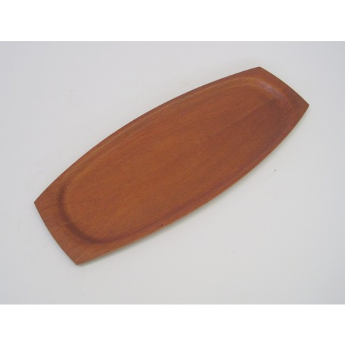 Danish teak plywood serving tray c1960s - Denmark