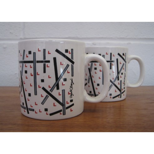 Ingrid Berger Mugs for FPC c1970 - England