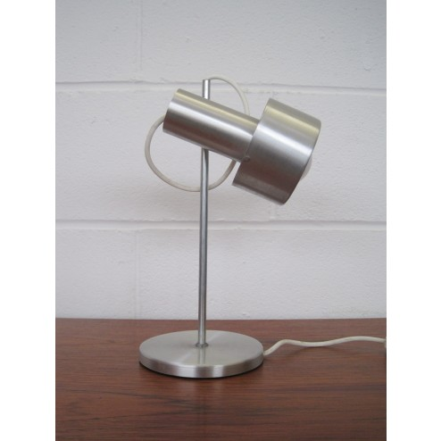 Prova adjustable desk / task lamp in aluminium c1960s - Italy