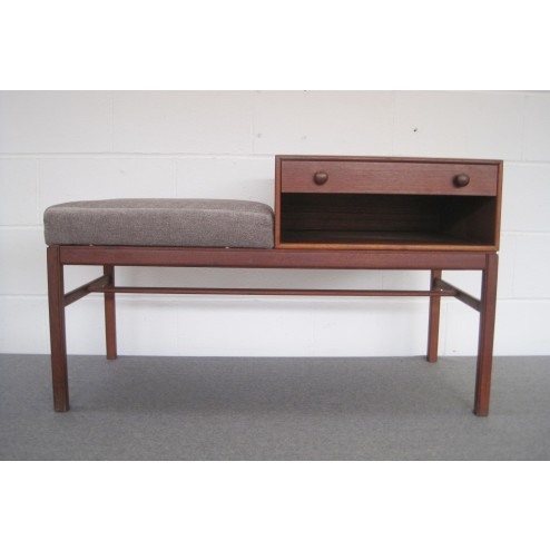 """Tingstroms """"CASINO"""" telephone table by Sven Engstrom & Gunnar Myrstrand c1964 - Sweden"""