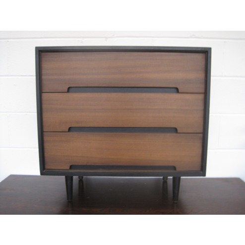 """Stag """"C"""" Range 3 Drawer Chest by John & Sylvia Reid for Stag Furniture Company - England c1958"""