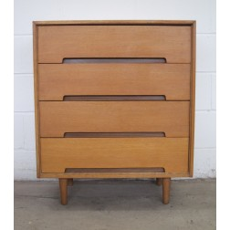 "Stag ""C"" Range 4 Drawer Chest by John & Sylvia Reid for Stag Furniture Company - England c1958"