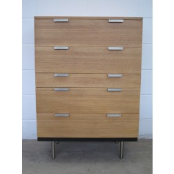 "Stag ""Fineline"" tall boy chest of drawers by John & Sylvia Reid c1961 - England"