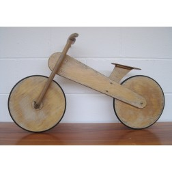Bespoke Childs plywood bicycle c1970s - England