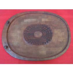 Digsmed Danish teak carving board c1960s - Denmark