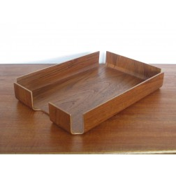 Mallod Designs bent plywood filing tray c1960s - England