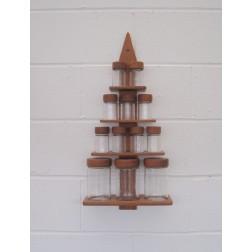 Digsmed Christmas Tree spice rack c1964 - Denmark