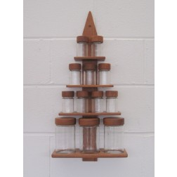 Digsmed Christmas Tree spice rack c1964 - Denmark