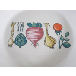 """Villeroy & Boch """"Primabella"""" serving bowl & dishes c1970s - Luxembourg"""