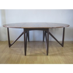 Kurt Ostervig rosewood dining table for Jason Mobler - Denmark c1964