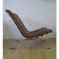 "Arne Norell ""Ari"" lounge chairs for Norell - Sweden c1968"