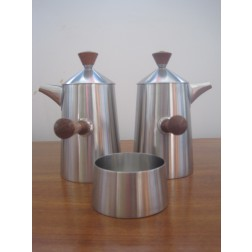"""Robert Welch """"Campden"""" Coffee Set for Old Hall c1962 - England"""