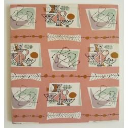 Jacqueline Groag Groag Textile of Fun Abstract Design