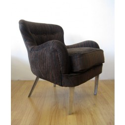 Ernest Race DA2 low back arm chair for Race Furniture