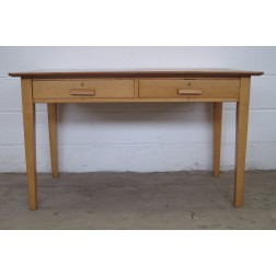 ESA Esavian school masters desk by James Leonard - England c1950s