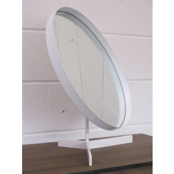 Durlston Designs XL triple prong pedestal vanity mirror by Owen F Thomas c1968 - England