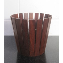 Gladlyn Ware slatted teak planter c1960s - England
