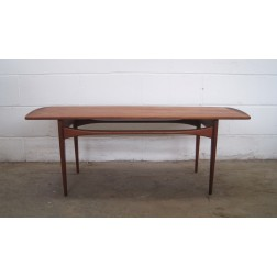 FD503 teak coffee table by Edvard & Tove Kindt-Larsen for France & Son c1962 - Denmark