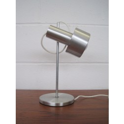 Prova adjustable desk / task lamp in aluminium c1960s - Italy
